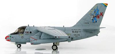 """Lockheed S-3B Viking """"Santa Tracker"""" VS-35, USS Abraham Lincoln, 1:72, Hobby Master"""