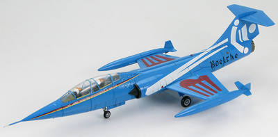 "Lockheed TF-104G Starfighter Luftwaffe, JBG 31""Boelcke"", 25th Anniversary 1983, 1:72, Hobby Master"