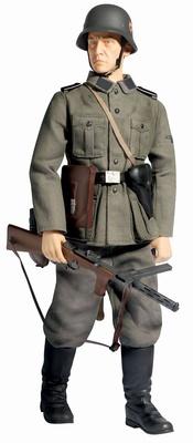 """Lothar Kroh"", Leibstandarte Infanterie, I.Bataillon, LAH (Mot), Eastern Front 1941, (Schutze), 1:6, Dragon Figures"