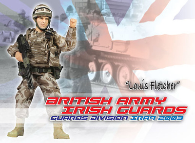 Louis Fletcher, British Army Irish Guards, 1:6, Dragon