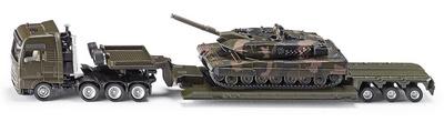 Low loader with tank, 1:87, Siku
