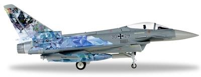 "Luftwaffe Eurofighter Typhoon, TaktLWG 74 ""Cyber Tiger"", Zaragoza, 2016, 1:72, Herpa"