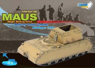 M.U.T. Maus, Böblingen, 1944, 1:72, Dragon Armor