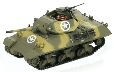 M10 Tank Destroyers 1st Armored Div., Italia, Mayo 1944, 1:72, Hobby Master