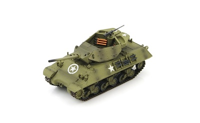 "M10 US Tank Destroyer ""Wolverine"" 803th Tank Destroyer Battalion, England 1944, 1:72, Hobby Master"