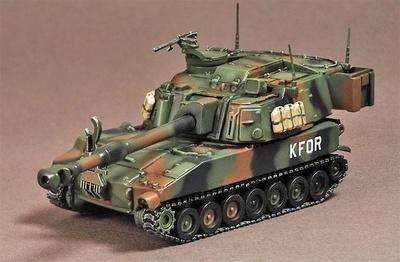 M109-A6 Paladin, KFOR, Kosovo, 2000, 1:72, War Master