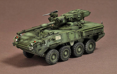 M1128 STRYKER MGS, 2nd Inf Div, Iraq, 2007, 1:72, War Master