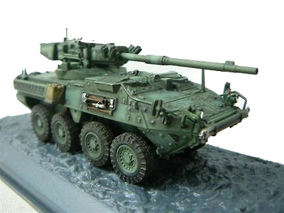 M1128 Stryker M.G.S, 2nd Infantry Division, USA, 2006, 1:72, Altaya