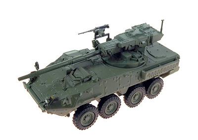 M1128 Stryker MGS (Mobile Gun System), USA, 2003, 1:72, DeAgostini