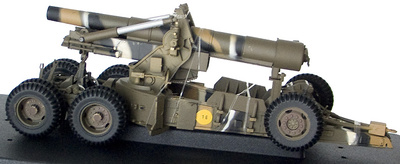 "M115 8"" Howitzer Short Barrel in Camo, US Army, 1:32, 21st Century"