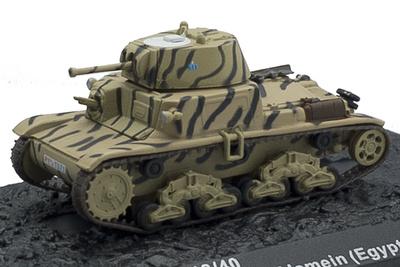 """M13/40, 133 Divisione Corazzata """"Littorio"""", El Alamein, Egipto, 1942, 1:72, Altaya"""