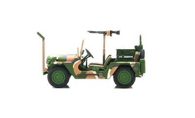 M151A2 Ford MUTT 82nd Airborne Division, US Army, 1:48, Hobby Master