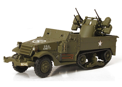 M16 Multiple Gun Motor Carriage, U.S. Army, Normandy 1944, 1:72, Forces of Valor
