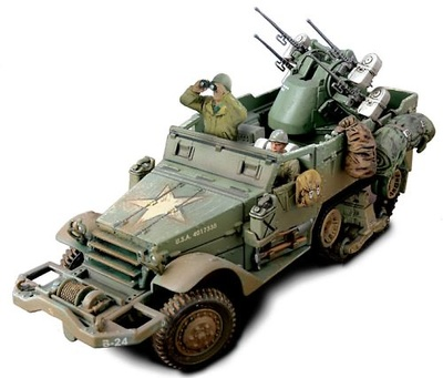 M16 Multiple Gun Motor Carriage, U.S.Normandy 1944, 1:32, Forces of Valor