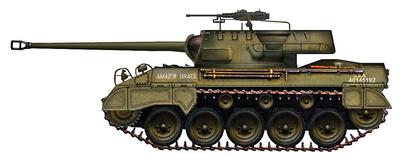 "M18 Hellcat Tank Destroyer ""Amaz'n Grace"", Francia, 1944, 1:72, Hobby Master"