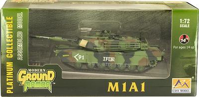 M1A1, Residence Europe, 1990, 1:72, Easy Model