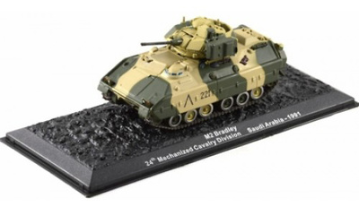 M2 Bradley, 24th Mechanized Cavalry Division, Saudi Arabia, 1991, 1:72, Altaya