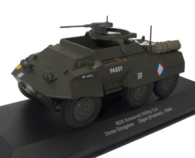 M20 Armored Utility Car, 2ème Dragons, Dijon, Francia, 1944, 1:43, Atlas