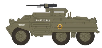 M20 Armored Utility Car 807th Tank Destroyer Bttn., B Co. 1st Platoon, Germany 1945, 1:72, Hobby Master