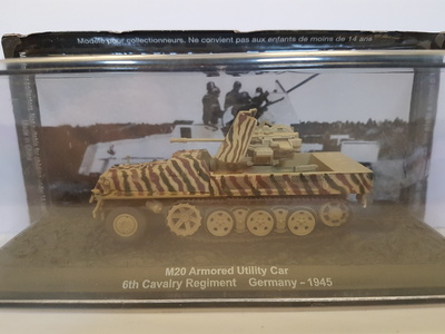 M20 Armoured Utility Car 6th Cavalry Regiment Getrmany, 1945, Altaya