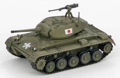 M24 Chaffee, 6th Divison, JSDF, Japan, 1:72, Hobby Master