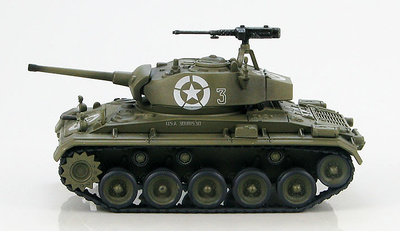 M24 Chaffee, 81st Recon. Squadron, 1st Armored Div., Italia, 1945, 1:72, Hobby Master