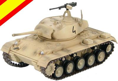 M24 Chaffee, Grupos Blindados de Caballeria, Ejército Español, Crisis del Sahara, 1957, 1:72, Hobby Master
