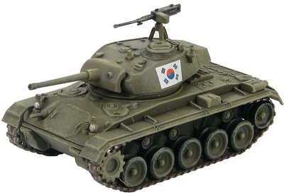 M24 Chaffee ROK Army Training Center, Kwang-Ju 1953, 1:72, Hobby Master