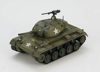 M24 Chaffee light tank 187th Airborne Regimental Combat Team near Yong-Dong-Po, South Korea, April 1951, 1:72, Hobby Master