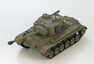M26 Pershing, A Company, 1st Marine Tank Battalion, 1950-51, 1:72, Hobby Master