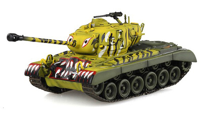 M26 Pershing, Detroit Arsenal, Corea, 1951, 1:72, Solido