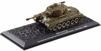 M26 Pershing, USA, 1945, 1:72, Altaya