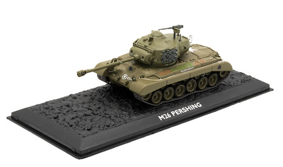 M26 Pershing, USA, 1945/50, 1:72, Atlas Editions
