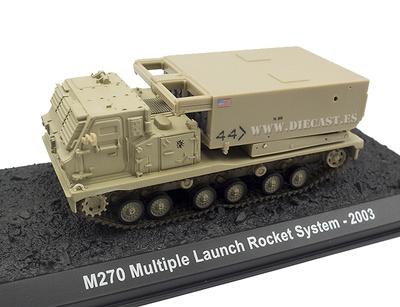 M270, Lanzamineto Múltiple de Cohetes, USA, 2003, 1:72, Amercom