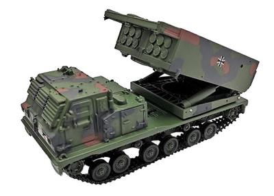 M270 Sistema Múltiple de Lanzamiento de Cohetes, Alemania, 2003, 1:72, Panzerkampf