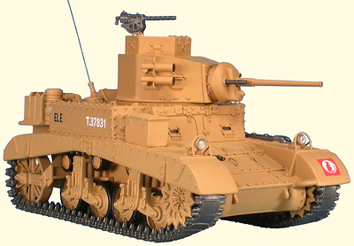 M3 Honey, Ratas del desierto, 7th Armored Div., Tobruk, Libia, 1941, 1:48, Gasoline