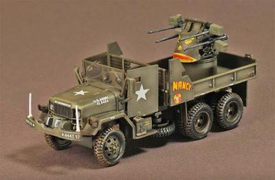 M35 2.5 Ton Gun Truck, Hamburguer Hill, Vietnam, 1968, 1:72, War Master