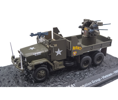 M35 A1,  Camión 6x6, 444th Transp. Company, 8th Group, Vietnam, 1968, 1:72, Altaya