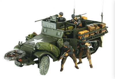 M3A1 Half-Track, U.S., Normandía, 1944, 1:32, Forces of Valor