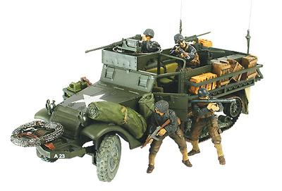 M3A1 Half-Track, U.S., Normandy, 1944, 1:32, Forces of Valor