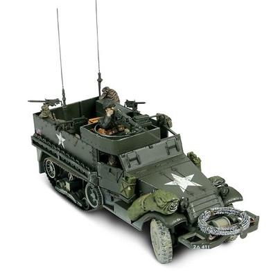 M3A1 Half-Track, U.S. Normandy, 1:32, Forces of Valor