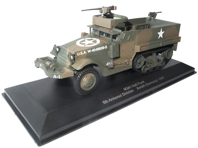 M3A1 Halftrack, 5th Armored Division, Anrath, Alemania, 1945, 1:43, Atlas