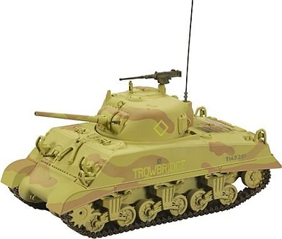 M4 Sherman, 9th Armored Brigade, Syria, 1:50, Corgi