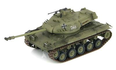 "M41G Walker Bulldog ""246"", Ejército Alemán, años 50, 1:72, Hobby Master"