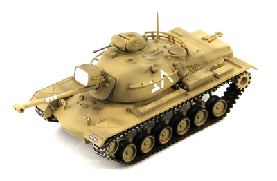 M48A2 Patton, 7th Armored Brigade, Sinai 1967, 1:72, Hobby Master