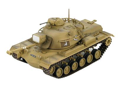 M48A2 Patton medium tank 2nd Battalion, 7th Armored Brigade, Rafah Junction and Rafah El Arish Road, 1967, 1:72, Hobby Master