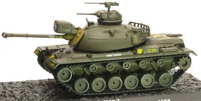 M48A3 Patton 2, US Army, Vietnam, 1968,1:72, Altaya