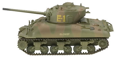 M4A1 Sherman, 2nd Armored Div Middle Tank, 1:72, Easy Models