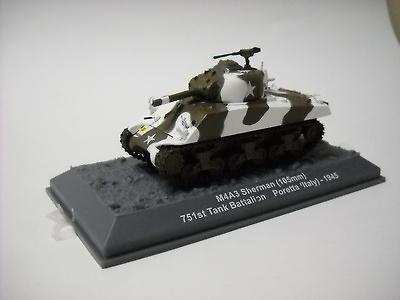M4A3 Sherman, 1945, 1:72, Altaya