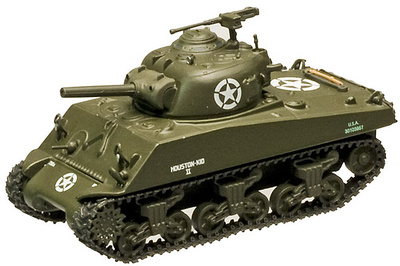 M4A3 Sherman, 756th Tank Battalion 5th Army, Francia, 1945, 1:72, 1945, Altaya
